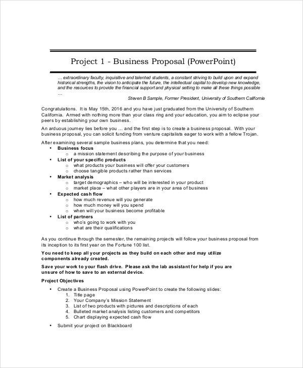 Business proposal 19 free pdf word psd documents download project business proposal template wajeb Image collections