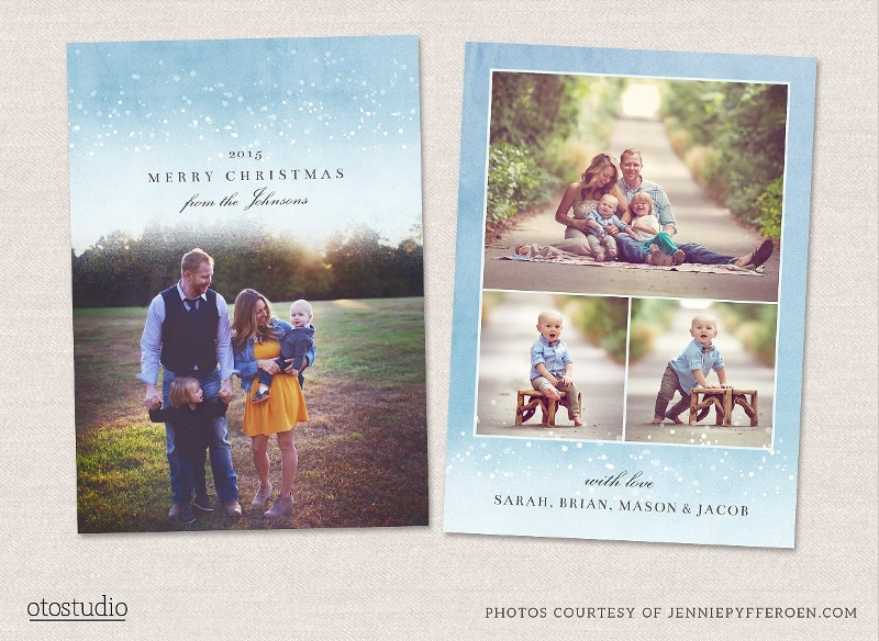Beautyful Christmas Card Template