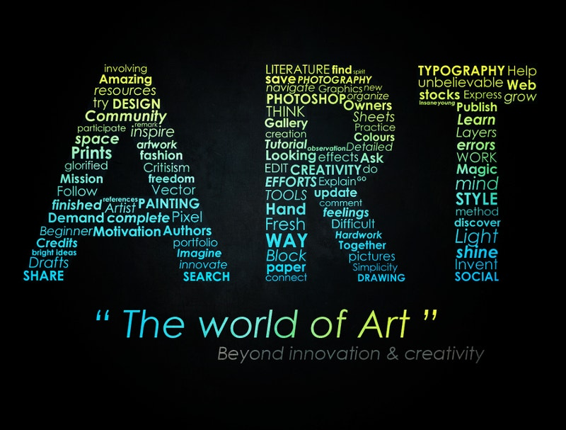 Typographic Art Design