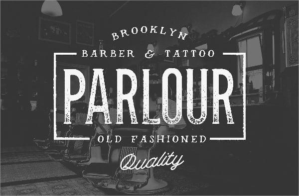 Parlour Tattoo Font