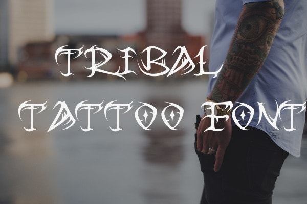 Tribal Tattoo Font