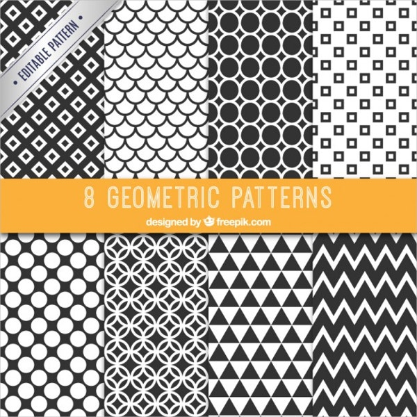 Free Black and White Patterns