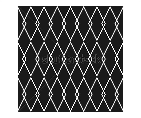 Tile Black and White Pattern