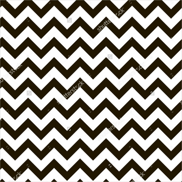 Zigzag Black and White Pattern