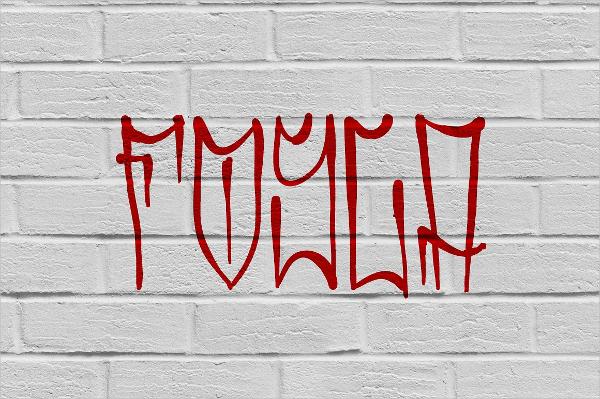 Fosca Graffiti Font