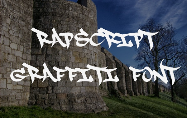 RapScript Graffiti Font