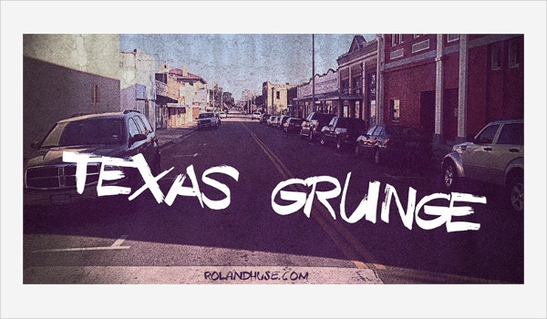 Texas Grunge Graffiti font