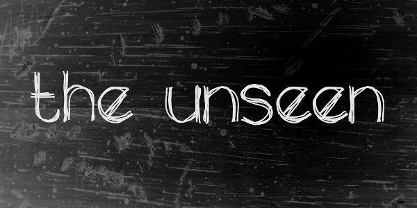 The Unseen Graffiti Font