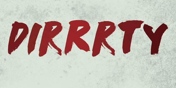 DK Dirrrty Font Free