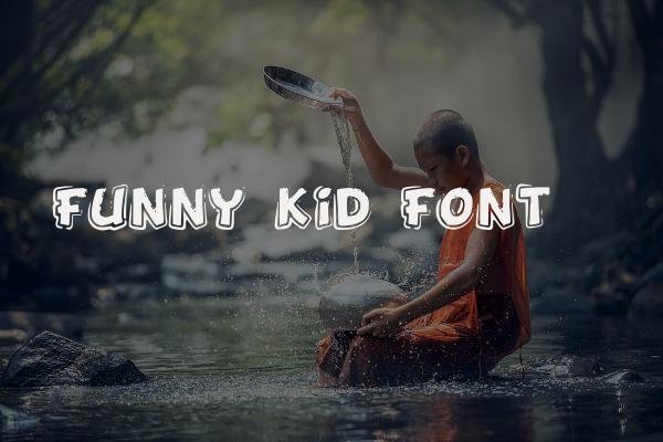 Funny Kid Font