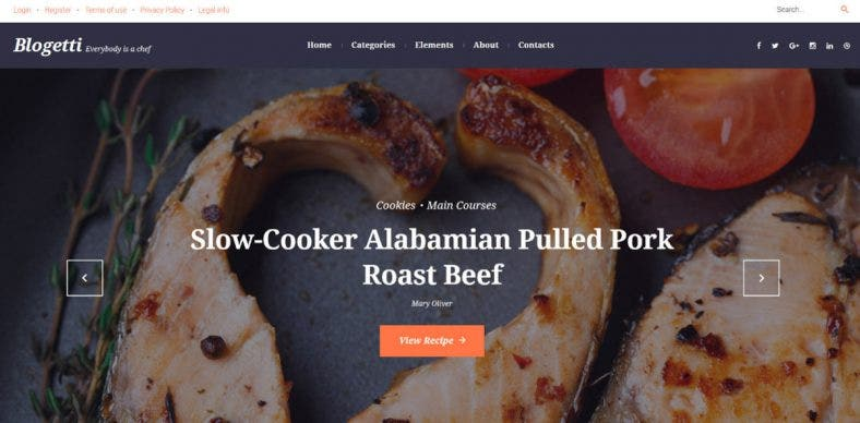 restaurant-recipe-blog-wordpress-theme
