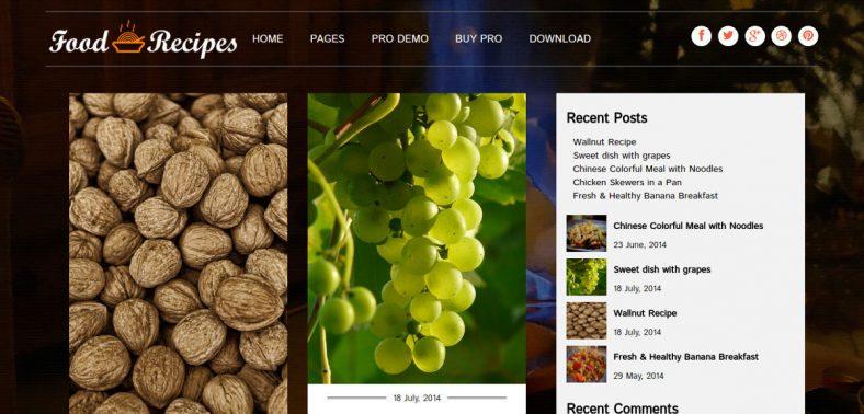 professional blogging recipes wordpress theme1 788x378