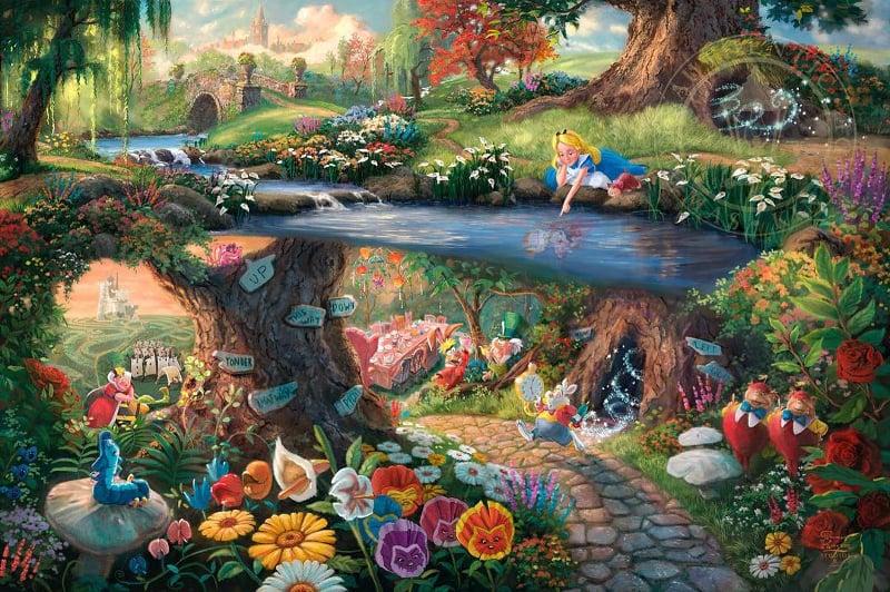Disney Fans Painting