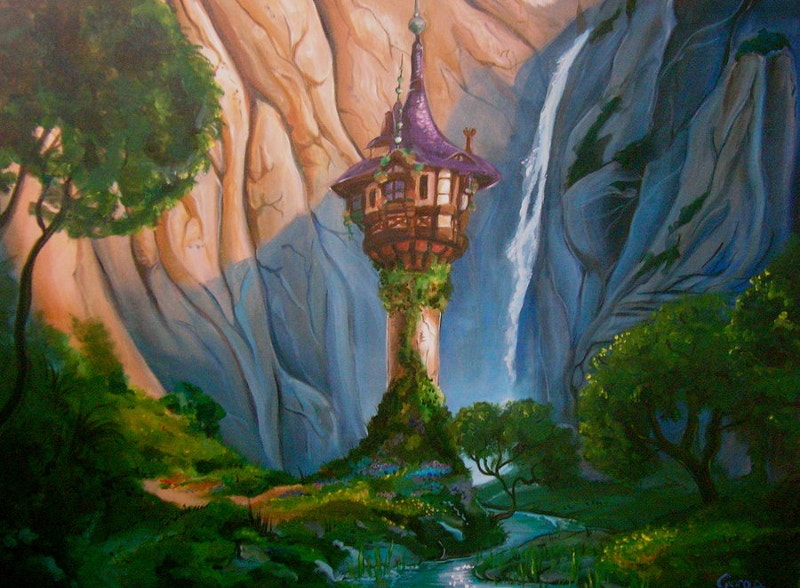 Awesome Disney Landscape
