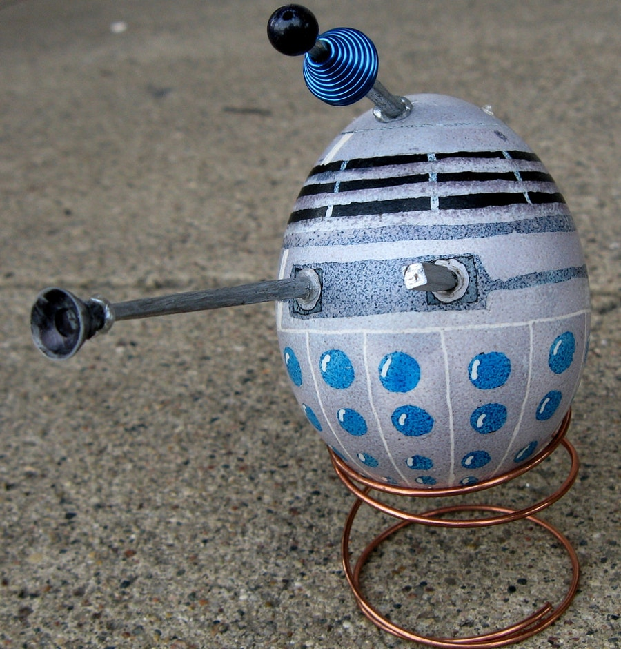 dalek egg design