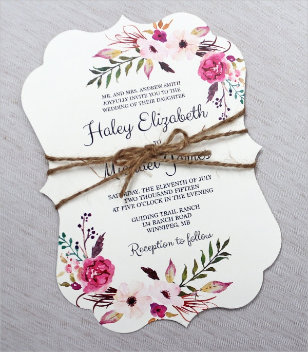 Elegant Wedding Invitations Free PSD Vector AI Ep Free - Wedding invitation templates with photo