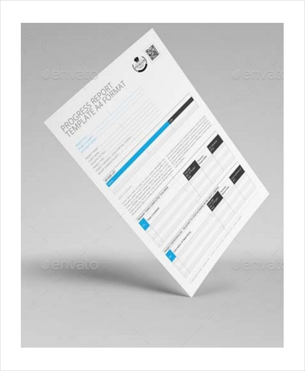 indesign daily progress report template format0a