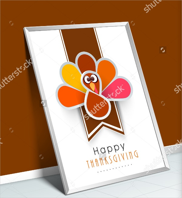Happy Thanksgiving Vintage Greeting Card