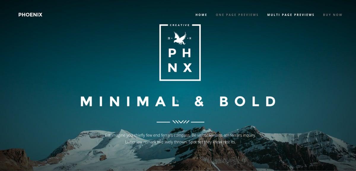minimal portfolio joomla template 48