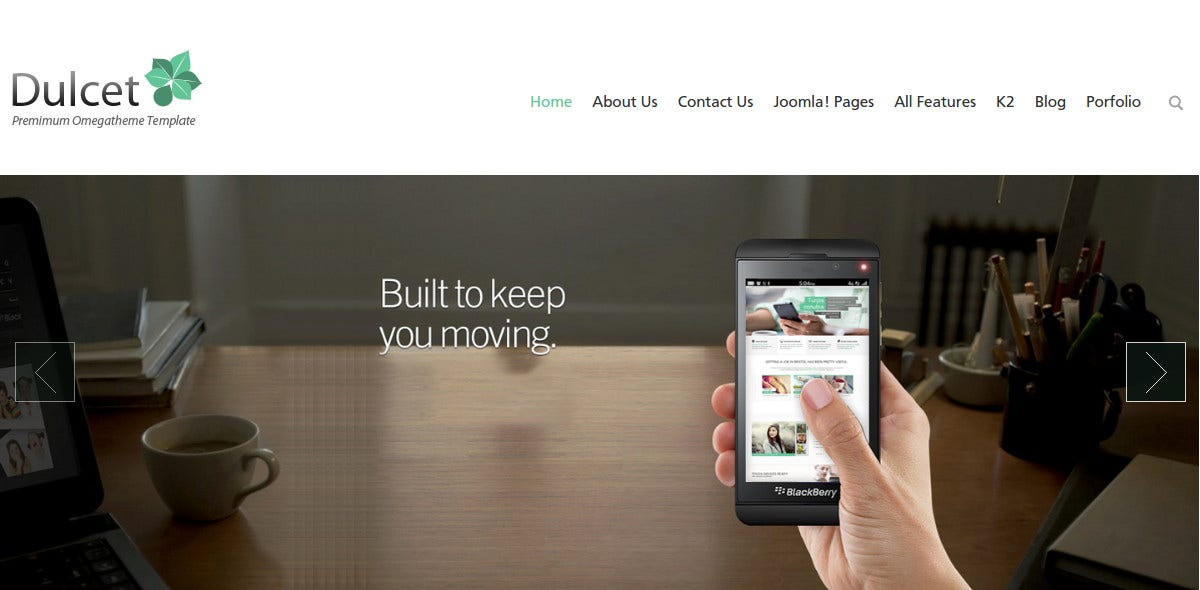 minimal free joomla responsive business and portfolio template