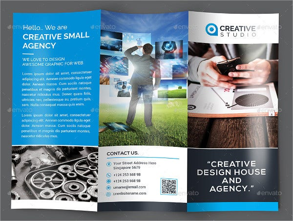 Creative Design Tri-Fold Brochure