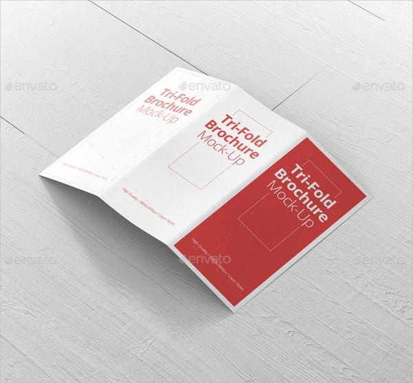 brochure mock up template - 28 tri fold brochure designs free psd vector ai eps