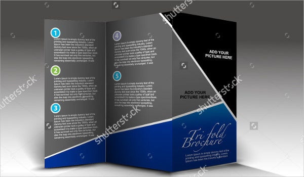 Tri-fold Brochure Design Template