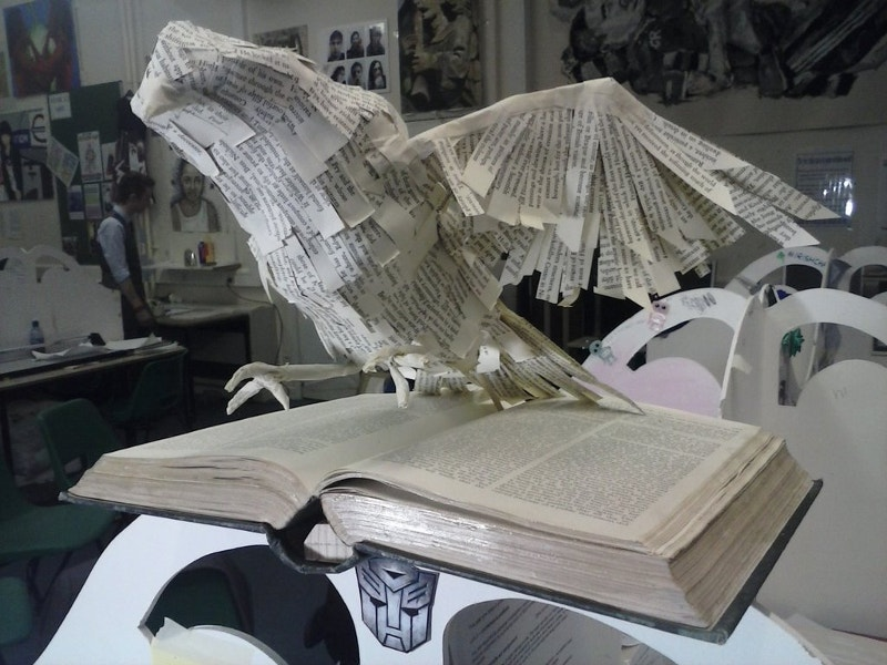 Paper Art of Bird