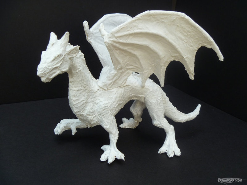 Dragon Paper Art