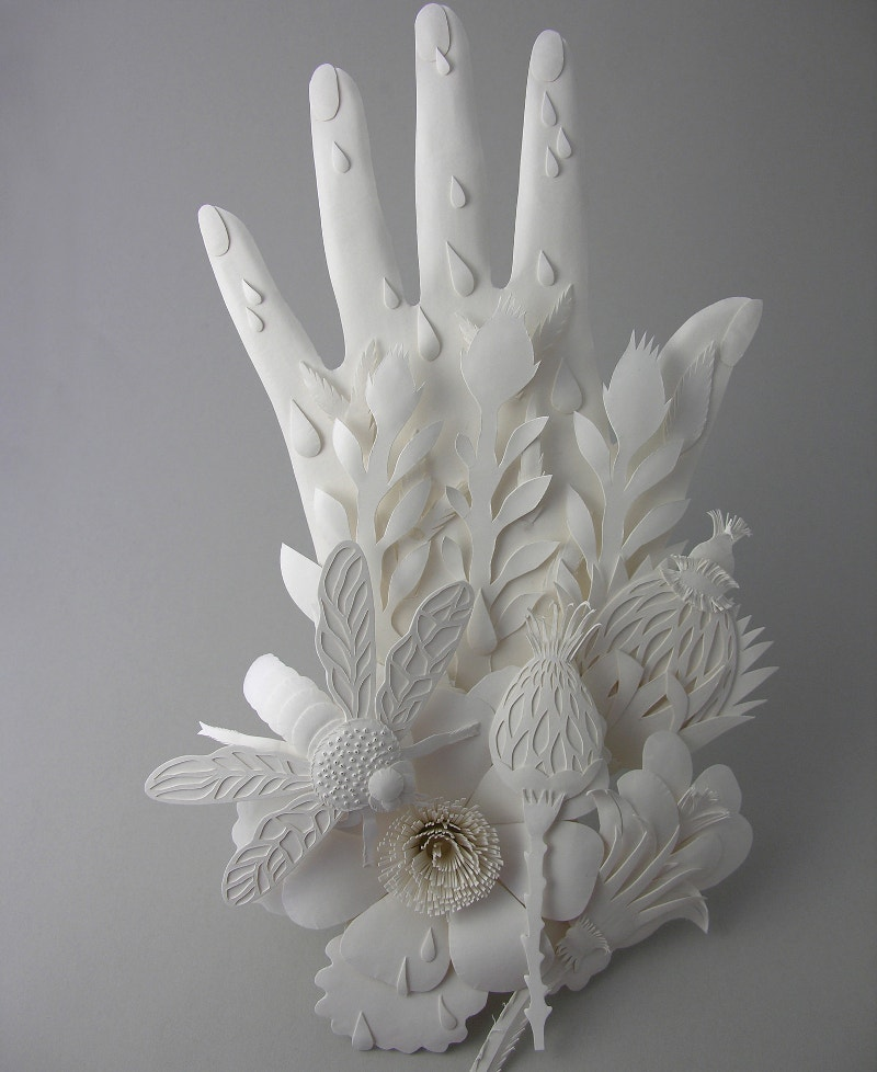 3D Paper Hand