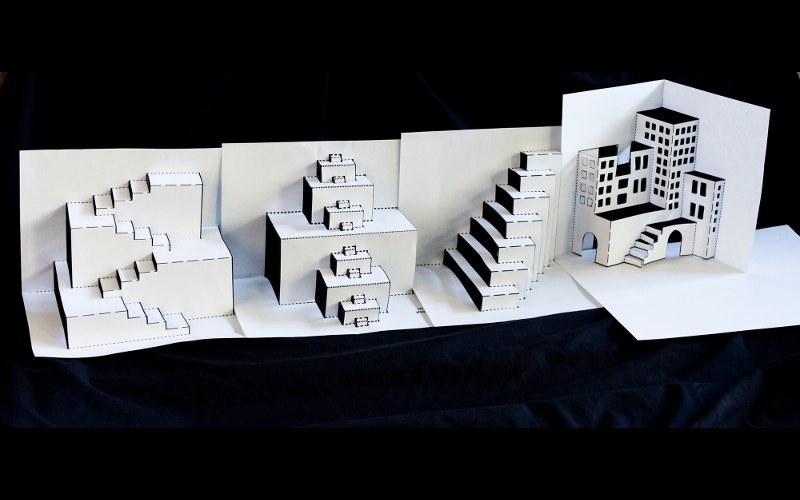 3d paper artwork