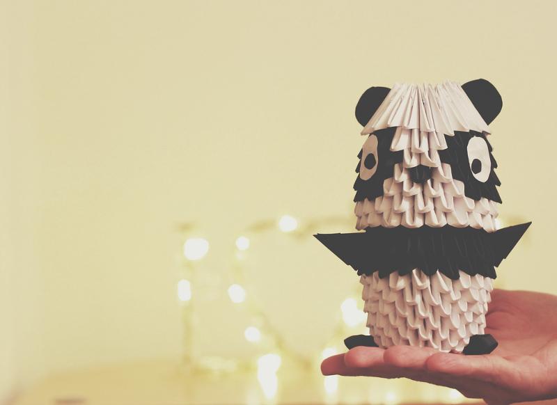 3D Paper Art of Panda