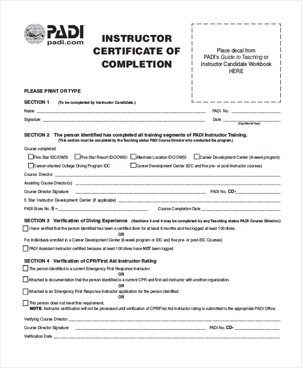 free-instructor-certificate-of-completion