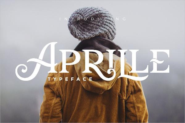 Aprille Typeface Font