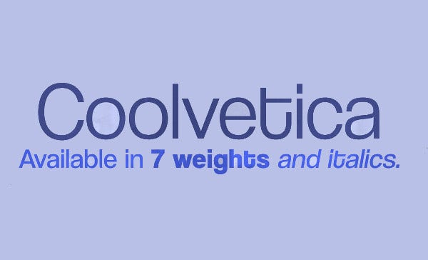 Coolvetica Font