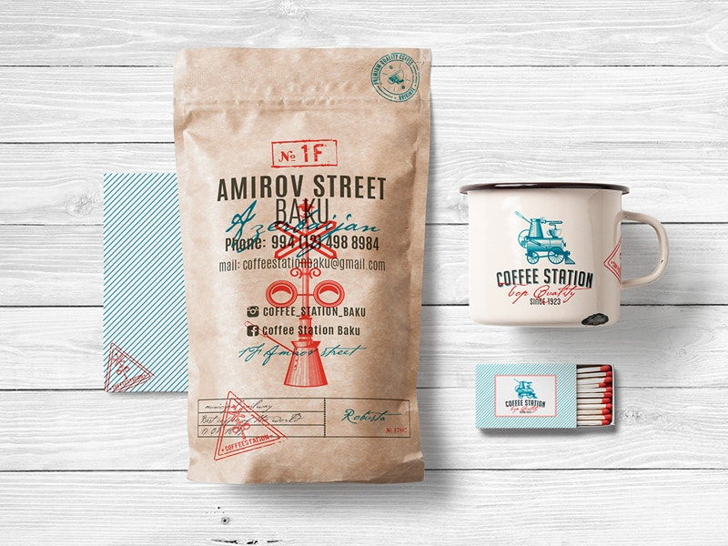 Stationery Branding Food Package Free