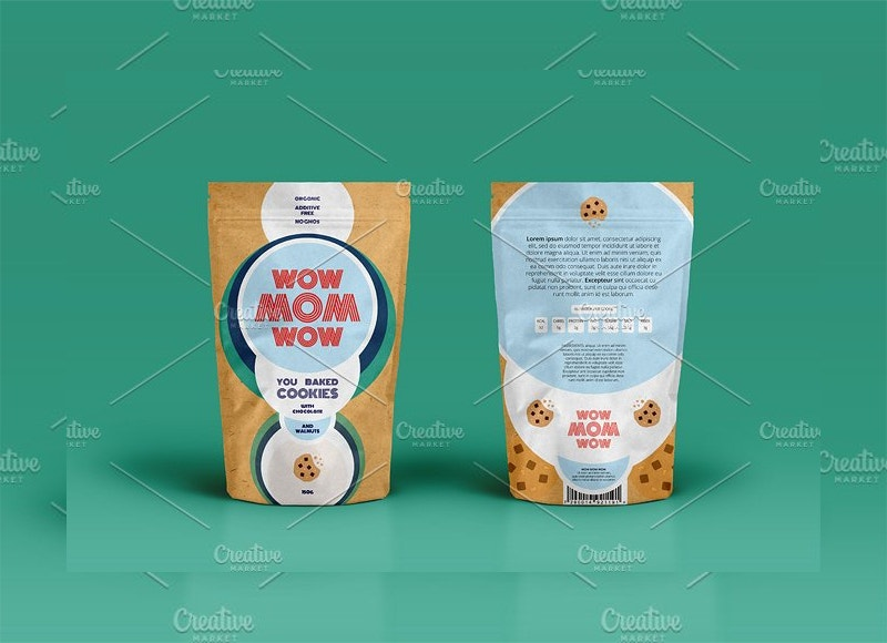 Minimal Food Packaging Design