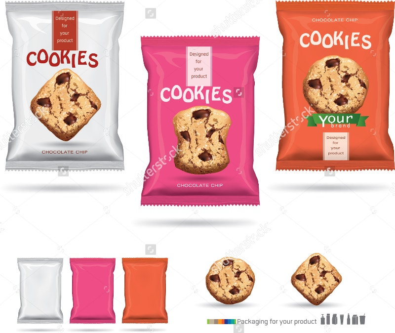 Design Packaging for Chocolate Cookies