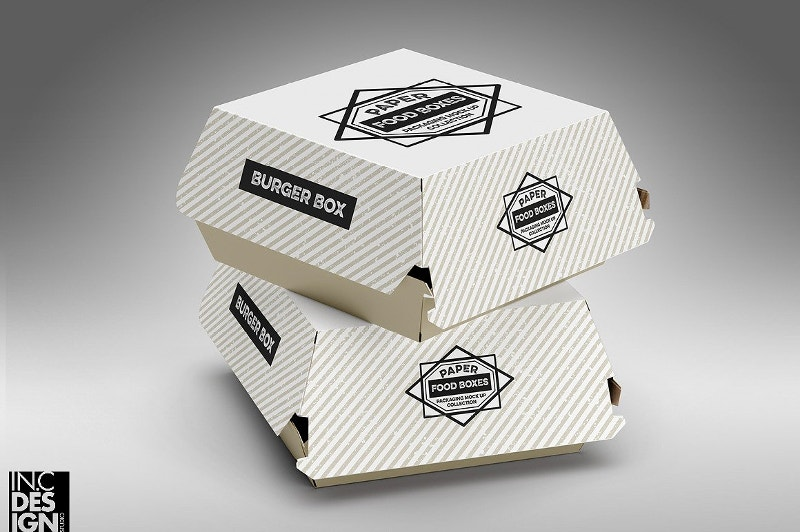Burger Box Packaging Design