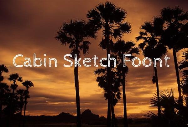 Cabin Sketch Foont