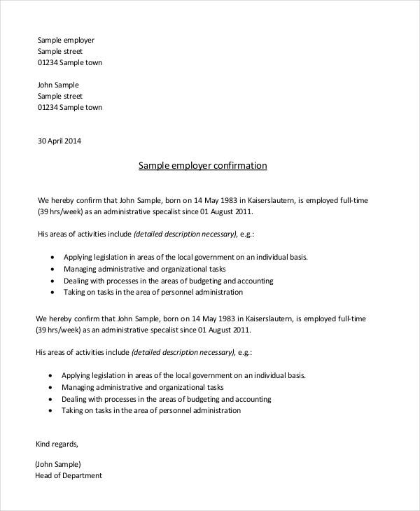 employer-confirmation-letter-template