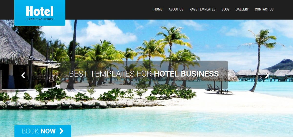 beautiful friendly and responsive hotel theme