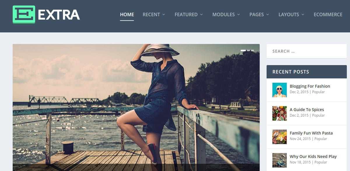 attractive magazine wordpress theme