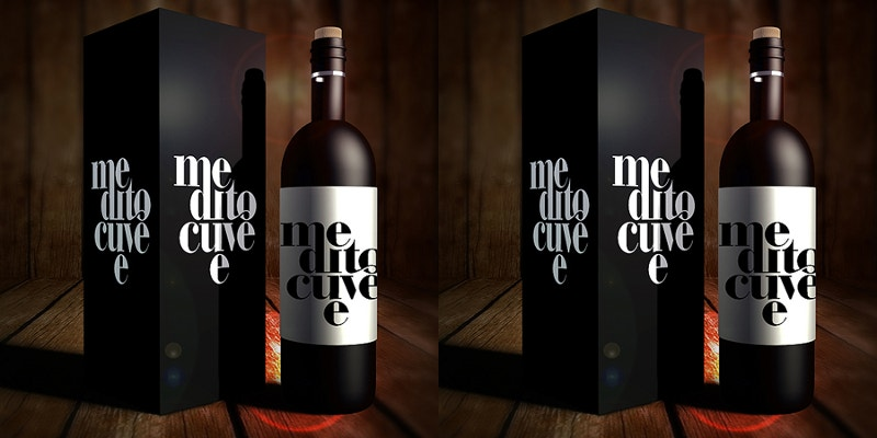 matte black winw bottle