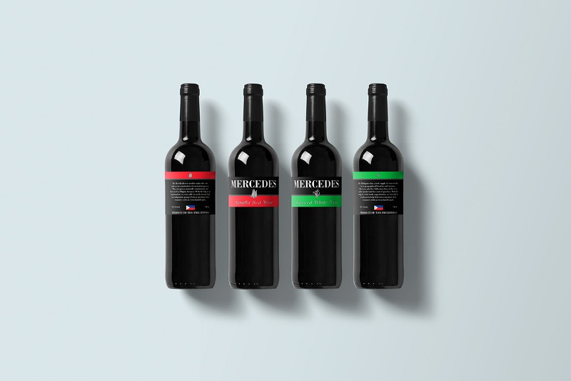 Packaging Wine Bottles Mockup