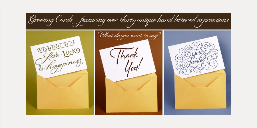 Best Greeting Card Font