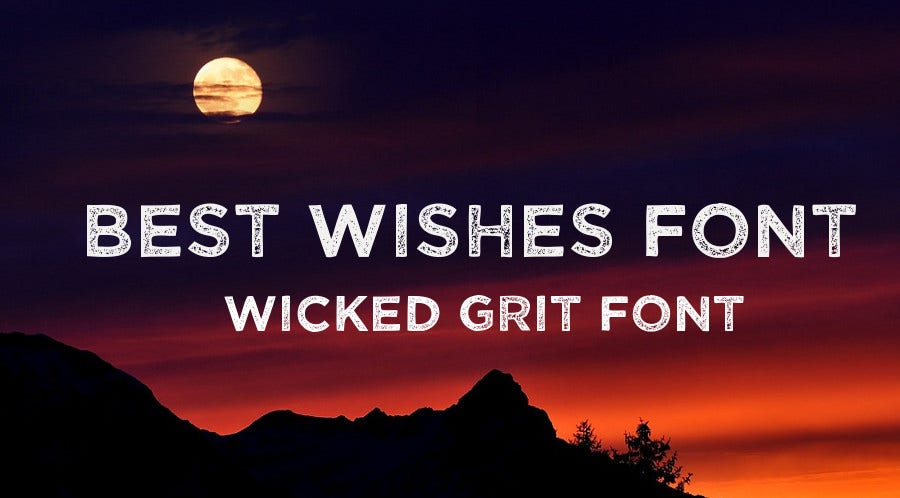 best wishes font download
