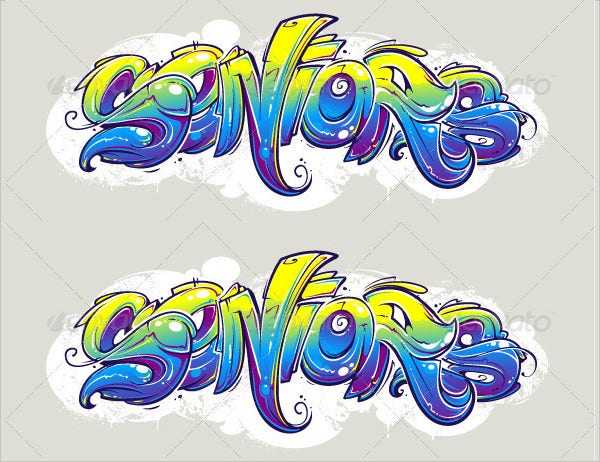 Wild Style Graffiti Lettering
