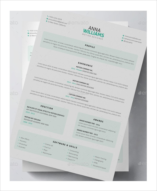 3d artist resume sample - Artist Resume Sample