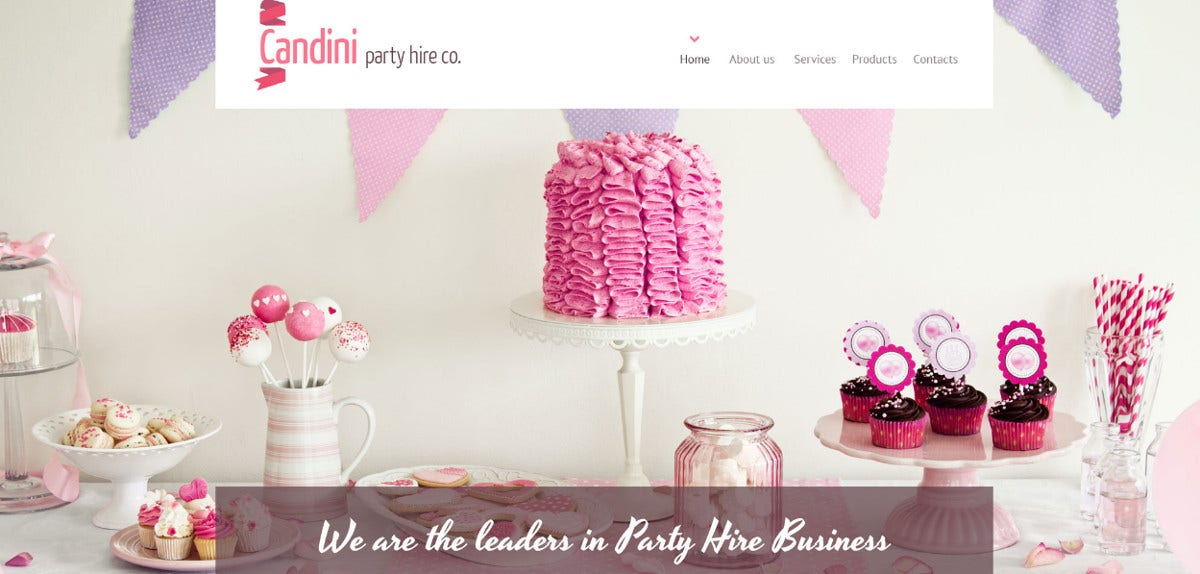 free-birthday-girl-wp-website-theme